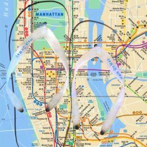 Mta Shoes Flip Flops Nyc Subway Map New York Sandal Tourist Poshmark